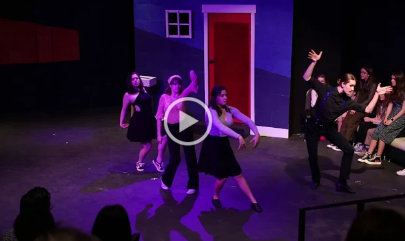 Youth theatre in Bellingham - student dance showcase of nonprofit arts organization fundraiser
